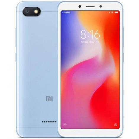 Смартфон ORIGINAL Xiaomi Redmi 6A Blue (8Х2.0Ghz; 2Gb/32Gb; 13МР/5МР; 3000 mAh)
