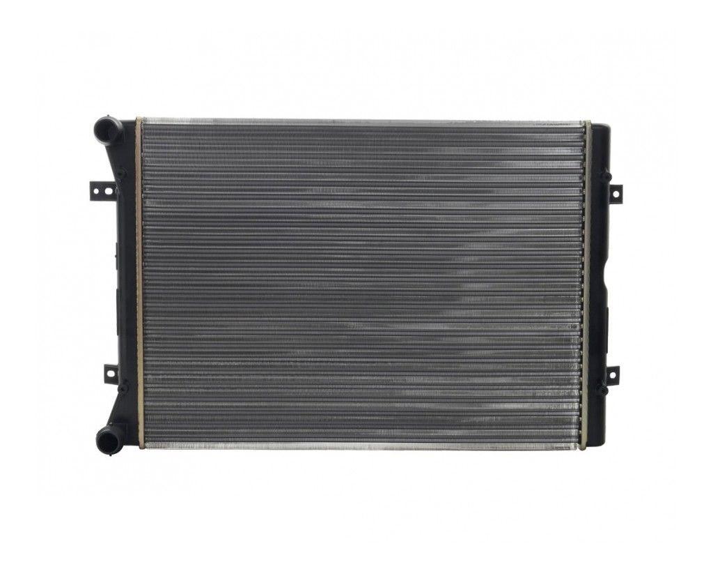 Радиатор охлаждения Volkswagen Sharan 2004- (1.9-2.0TDI) 600*445мм плоские соты KEMP