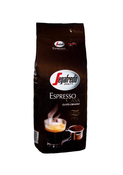 Кофе из Италии в зернах Segafredo Espresso Casa 250 г.