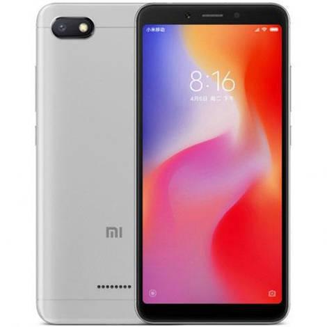 Смартфон ORIGINAL Xiaomi Redmi 6A Silver (8Х2.0Ghz; 2Gb/32Gb; 13МР/5МР; 3000 mAh)