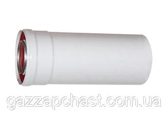 Удлинитель коаксиального дымохода для турбированных котлов 0,25 метра, 60/100 (801006)