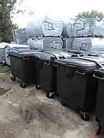 Мусорный контейнер пластиковый 1,1 м3
