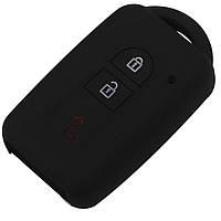 Силиконовый чехол для ключей Nissan (Qashqai/ Micra/ Navara/ Almera)