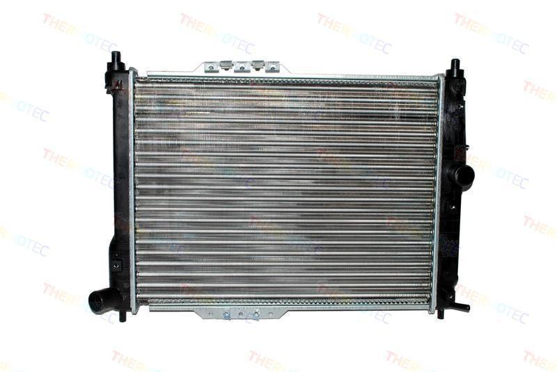Радиатор охлаждения Daewoo Lanos (1.3-1.6 механика АС+) 635*382мм плоские соты KEMP