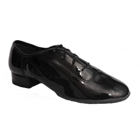 Чоловіче взуття для спортивно-бальних танців, стандарт МС-1 (лак)