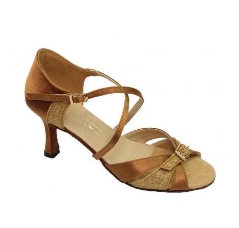Женская обувь для спортивно бальных танцев, латина Л-17 (d)