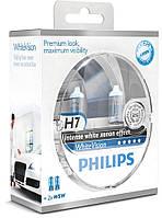 Галогенная лампа Philips WhiteVision H7 12V 12972WHVSM (2шт.), фото 1