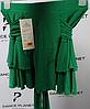 """Юбка для спортивно - бальных танцев """"Латина 2035"""", зеленый"""