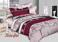 """Красивый двухспальный комплект постельного белья """"Терамису""""."""