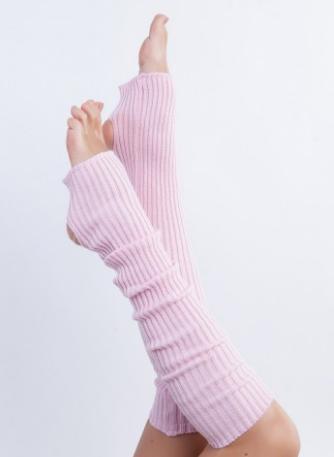"""Гетры для спортивно - бальных танцев """"Ensoul"""", Светло-розовый, 40-60-80см"""