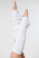 """Гетры для спортивно - бальных танцев """"Ensoul"""", Белый, 40-60-80см"""