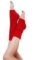 """Гетры для спортивно - бальных танцев """"Ensoul"""", Красный, 40-60-80см"""