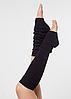 """Гетры для спортивно - бальных танцев """"Ensoul"""", Черный, 40-60-80см"""