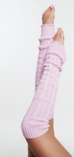 """Гетры для спортивно - бальных танцев """"Ensoul"""", 10Светло-розовый, 40-60-80см"""