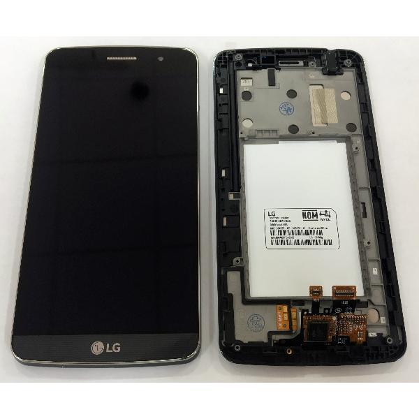 Дисплей для LG X190 Ray Dual Sim с тачскрином и рамкой серый, Titan Black Оригинал