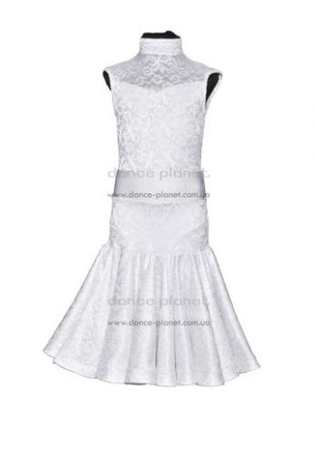 """Платье-бейсик для спортивно - бальных танцев """"со съемной юбкой 'Латина'"""""""