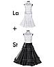"""Платье-бейсик для спортивно - бальных танцев """"со съемной юбкой 'Латина'+'Стандарт'"""""""