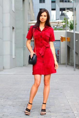 модное платье рубашка 2018