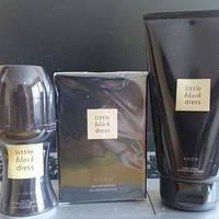 Женский парфюмированный набор Little black dress, 3 единицы Avon