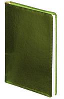 Ежедневник недатированный А5 Buromax 288 стр. салатовый Metallic BM.2033-15