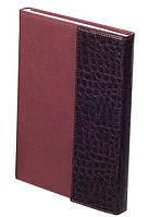 Ежедневник недатированный А5 Buromax 288 стр. коричневый PRIMO BM.2032-25