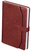 Ежедневник недатированный А5 Buromax 288 стр. коричневый CREDO BM.2017-25