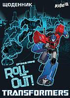 Дневник школьный Transformers Kite укр яз твердая обл TF16-262