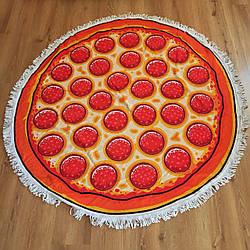 Пляжное Полотенце Пицца 100% Хлопок лучшее качество