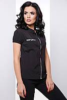 Универсальная женская блузка с коротким рукавом 7064, фото 1