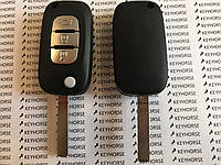 Выкидной авто ключ для Renault (Рено) 3 кнопки, лезвие VA2