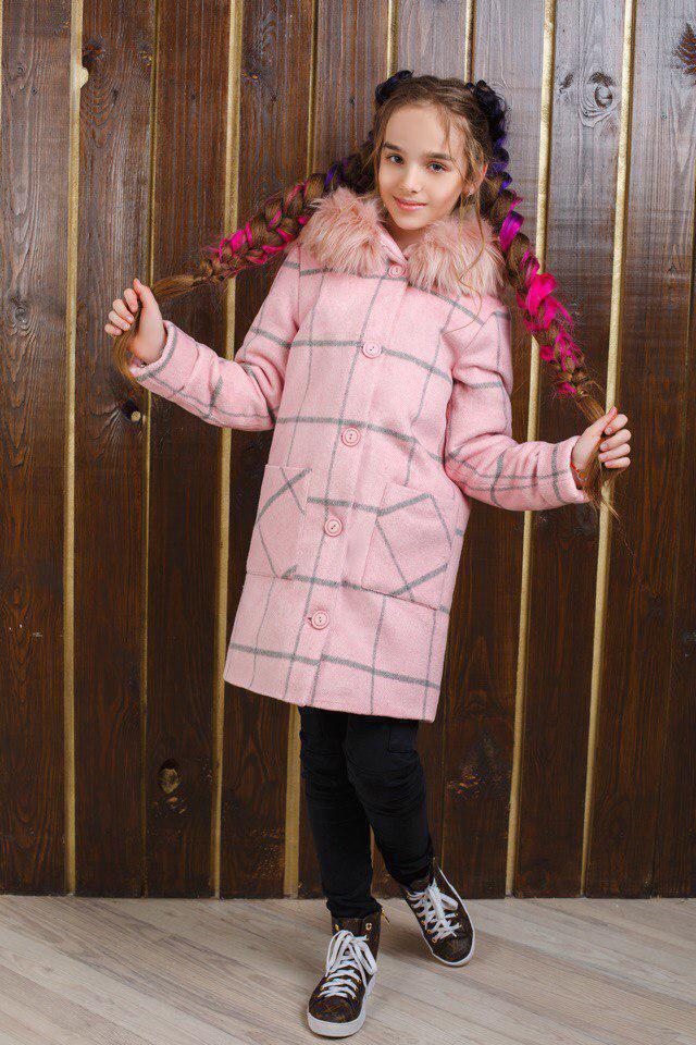 Пальто LiLove 320-1 152 розовый