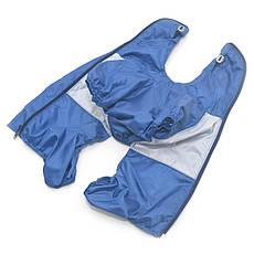 Дождевик для собак c капюшоном синий, фото 2