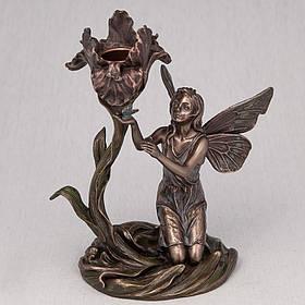 Подсвечник Veronese Фея с цветком 18 см (10282 A4)