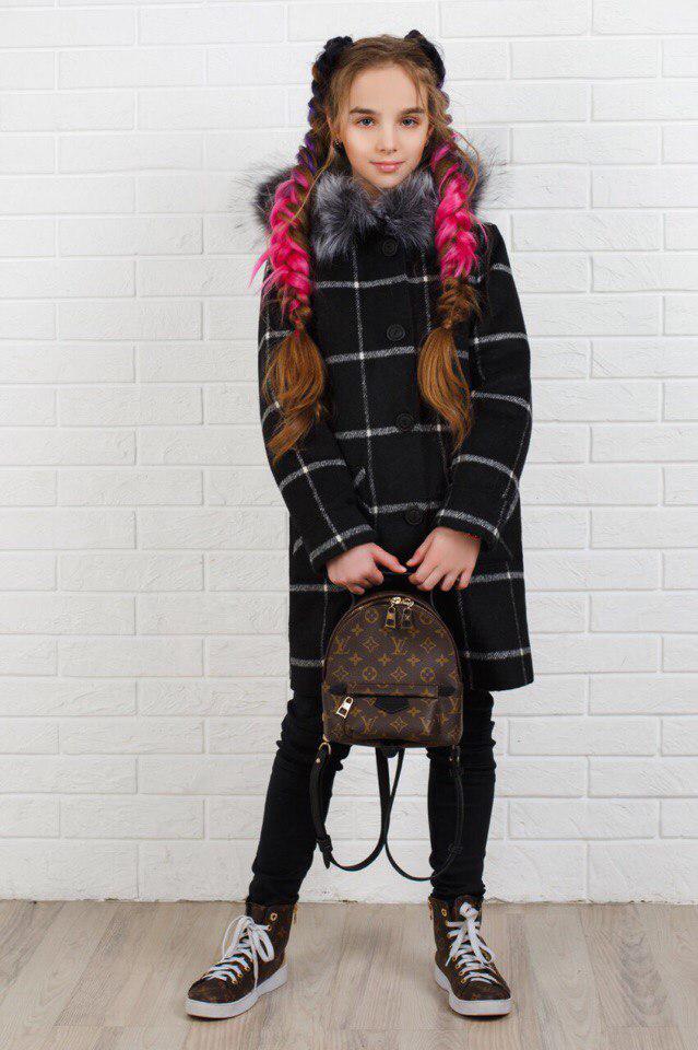 Пальто LiLove 320-2 146 черный