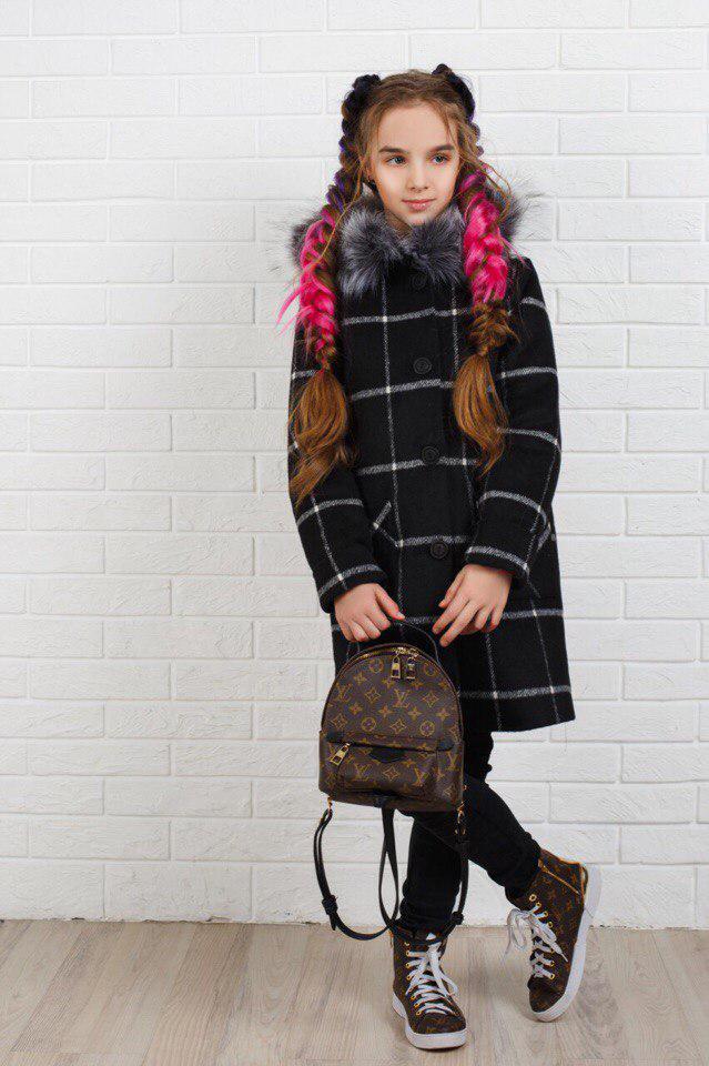 Пальто LiLove 320-2 140 черный