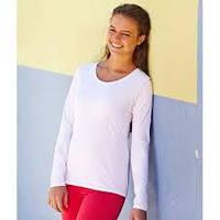 Женская футболка с длинным рукавом Valueweight Long Sleeve Lady-Fit 61-404-0