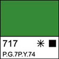 Краска акриловая ЛАДОГА, зеленая светлая, 220мл ЗХК