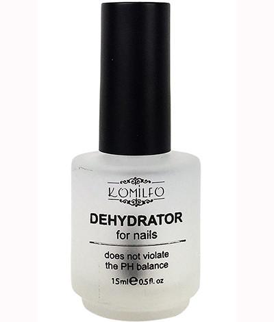 Дегидратор для ногтей Komilfo Dehydrator, 15 мл