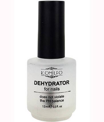 Дегидратор для ногтей Komilfo Dehydrator, 15 мл, фото 2