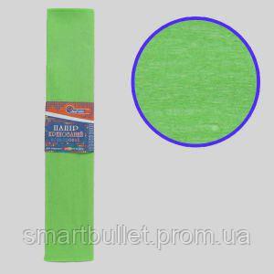 Креп-бумага 100%, салатовый