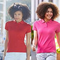 Женская рубашка поло пермиум 63-030-0