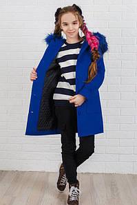 Пальто LiLove 333-2 146 синий