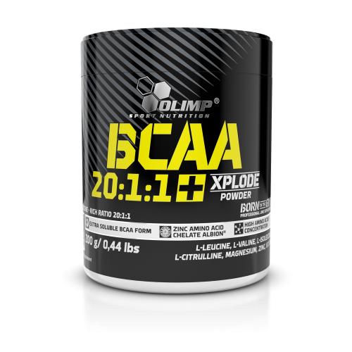 Аминокислоты Olimp BCAA 20:1:1 Xplode 200 g