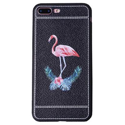 Чехол накладка xCase на iPhone 6/6s фламинго под кожу №2