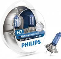 Галогенная лампа Philips H7 DiamondVision 12V 12972DVS2 (2шт.)