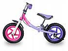 Беговел Lionelo Ben 12 Purple-Pink Польша, фото 8