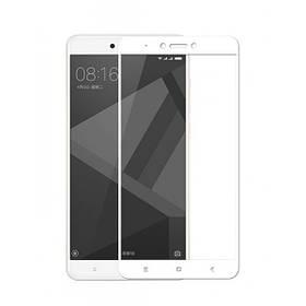 Защитное стекло для Xiaomi redmi 4a цвет белый