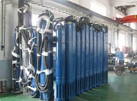 Промышленный погружной насос 150QJ10-325/37