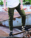 Брюки карго мужские хаки от бренда ТУР модель Инк (Ink) размер S, M, L, XL, XXL, фото 6