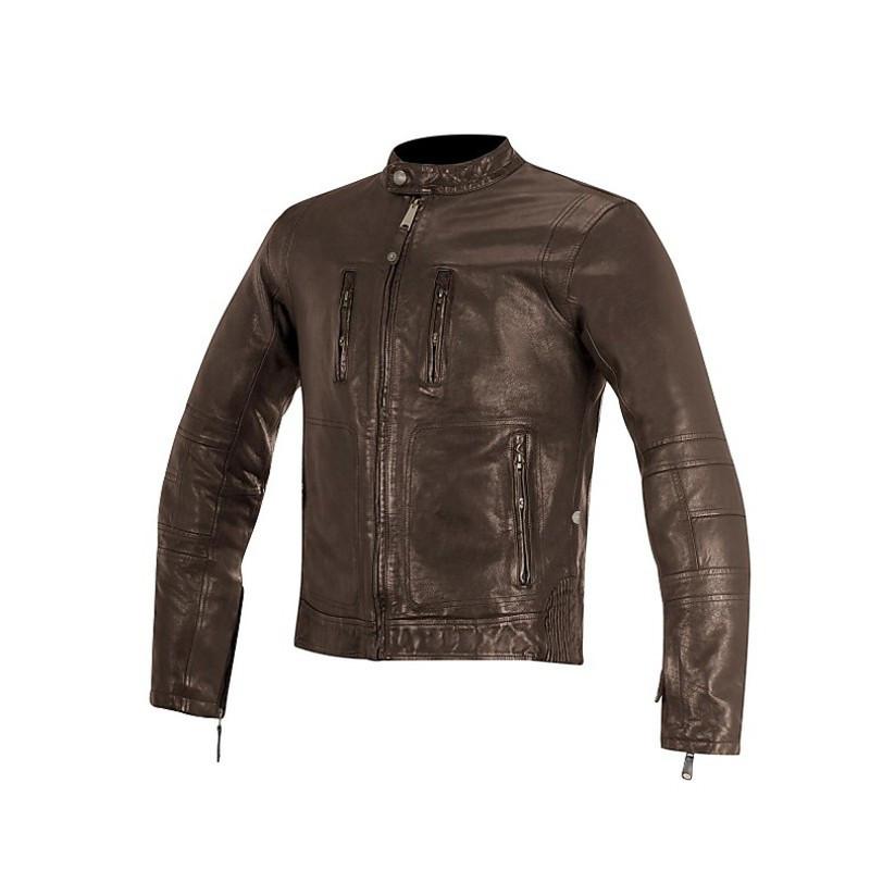 "Куртка Alpinestars BRASS brown кожа ""XL"""